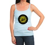 skull and hand bones Jr. Spaghetti Tank