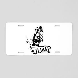 EQUESTRIAN JUMP Aluminum License Plate