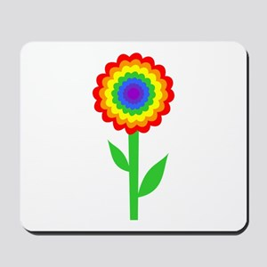 Flower, Bright and Colorful Mousepad