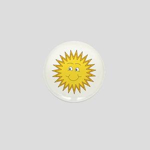 Happy Sun in Summer Mini Button