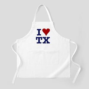 I LOVE TX BBQ Apron