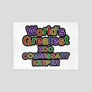 World's Greatest ZOO COMMISSARY KEEPER 5'x7' Area