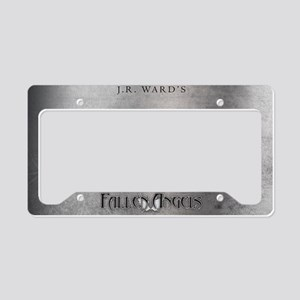 Silver JR Ward's Fallen Angels License Plate Hold