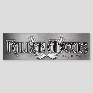 Fallen Angels Silver Bumper Sticker