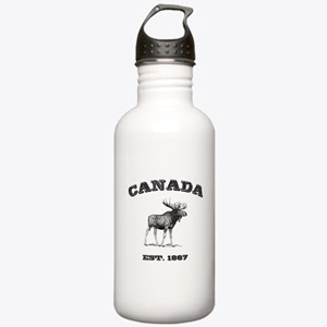 Canadian Moose Stainless Water Bottle 1.0L
