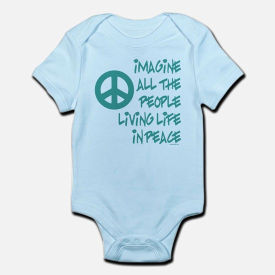 Imagine Peace Infant Bodysuit