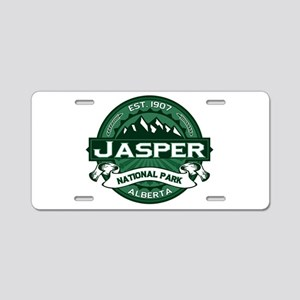 Jasper Forest Aluminum License Plate
