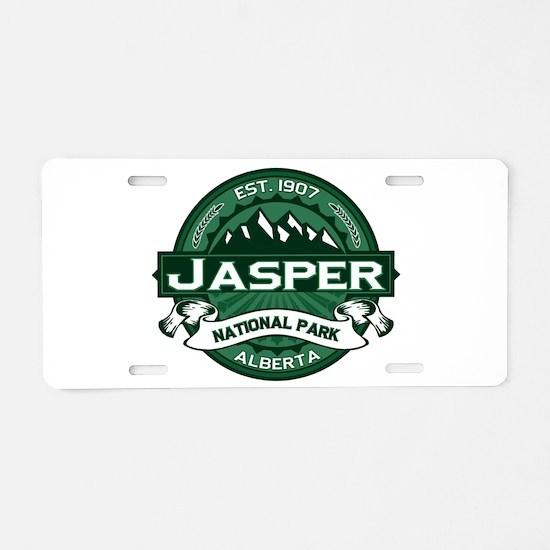 Jasper Forest Aluminum License Plate