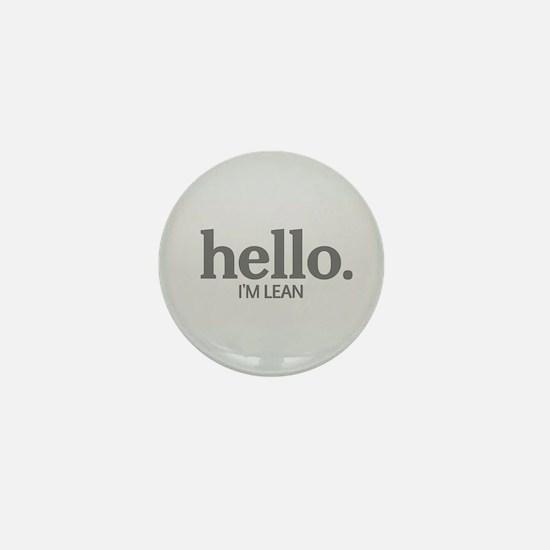 Hello I'm lean Mini Button