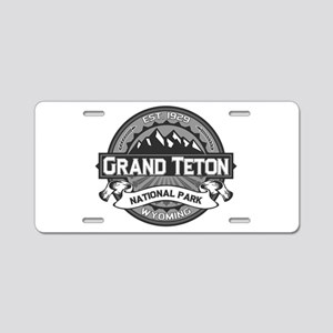 Grand Teton Ansel Adams Aluminum License Plate