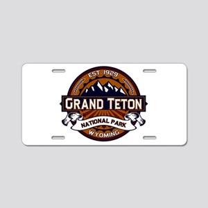 Grand Teton Vibrant Aluminum License Plate