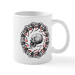 Skull and hand bones 2 Mug