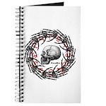 Skull and hand bones 2 Journal