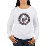 Skull and hand bones 2 Women's Long Sleeve T-Shirt