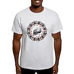 Skull and hand bones 2 Light T-Shirt