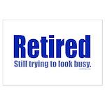 Retirement Large Poster