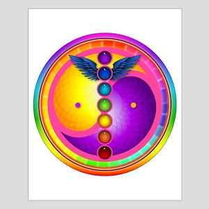 Chakra Mandala Small Poster