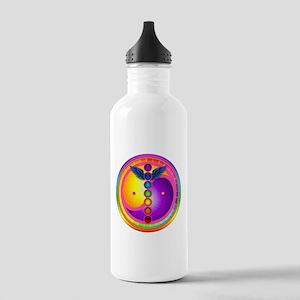 Chakra Mandala Stainless Water Bottle 1.0L