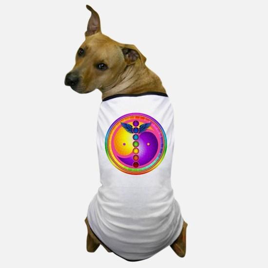 Chakra Mandala Dog T-Shirt