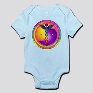 Chakra Mandala Infant Bodysuit
