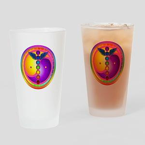 Chakra Mandala Drinking Glass