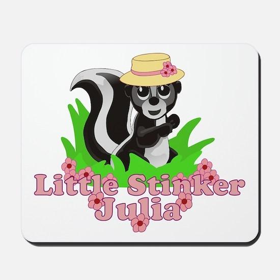 Little Stinker Julia Mousepad
