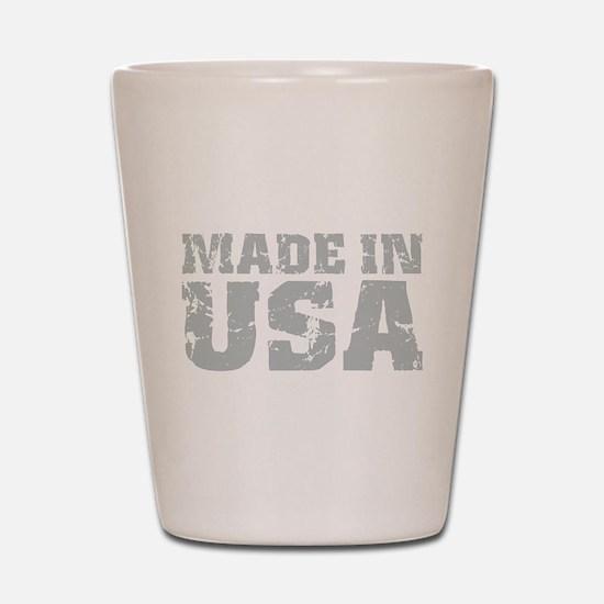 Made In USA Shot Glass