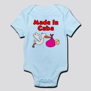Made In Cuba Girl Infant Bodysuit