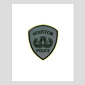 Houston Police E.O.D. Small Poster