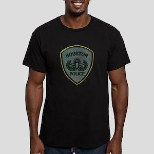 Houston Police E.O.D. Men's Fitted T-Shirt (dark)