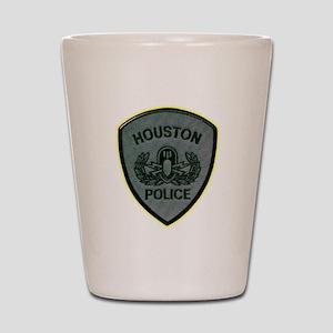 Houston Police E.O.D. Shot Glass