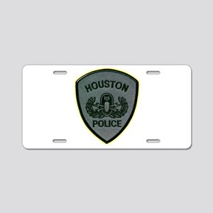 Houston Police E.O.D. Aluminum License Plate