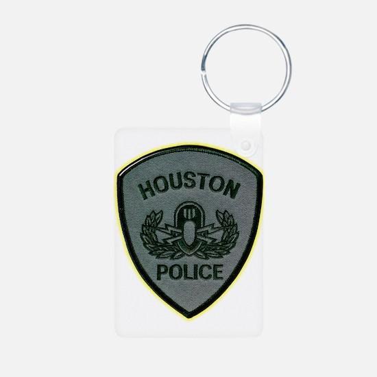 Houston Police E.O.D. Keychains