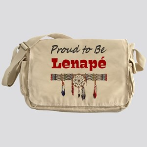 Proud to be Lenape' Messenger Bag