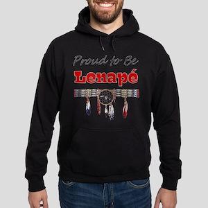 Proud to be Lenape' Hoodie (dark)