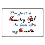 Country Gal Coastie Love Banner