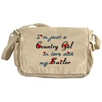 Country Gal Sailor Love Messenger Bag