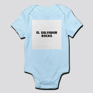 EL SALVADOR ROCKS Infant Creeper