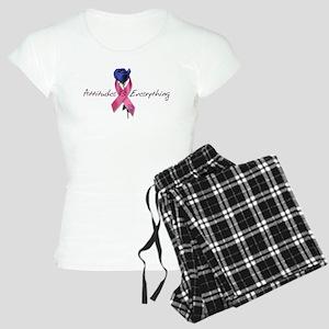 Pink Ribbon - Attitude Women's Light Pajamas