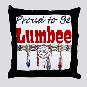 Proud to be Lumbee Throw Pillow