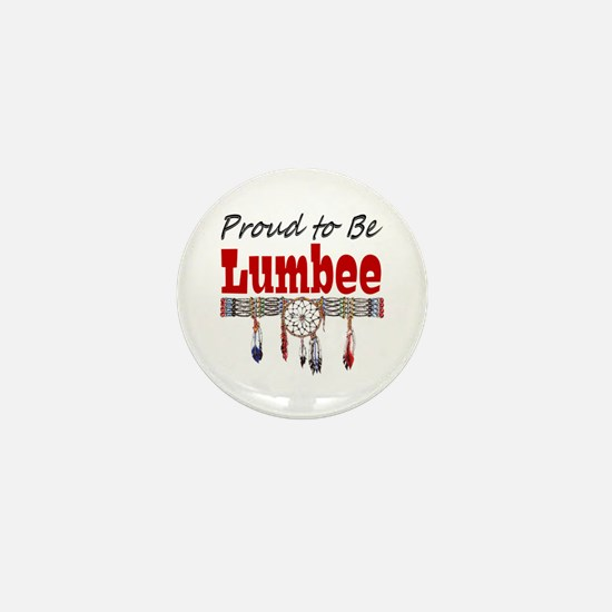 Proud to be Lumbee Mini Button