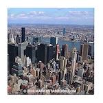 Manhattan New York City Tile Coaster