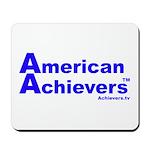 American Achievers TM Blue Logo Mousepad