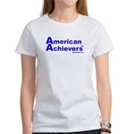 American Achievers TM Blue Logo Women's T-Shirt