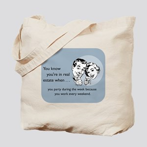Party Like an Agent Tote Bag