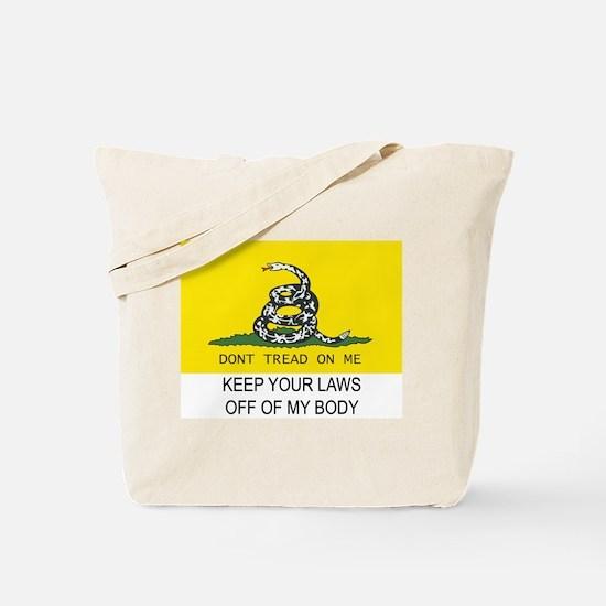 Gasdsen Flag  MeTote Bag