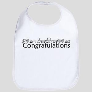 Congratulations Bib