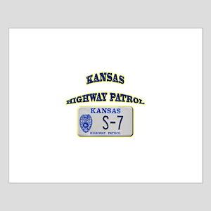 Kansas Highway Patrol Small Poster