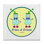 Erlen & Erlene Tile Coaster