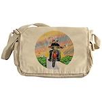 Guardian Blessing 2 Riders Messenger Bag